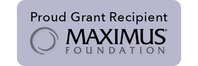 MAXIMUS Foundation Grantee Website Badge
